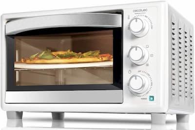 mini horno tostador cecotec
