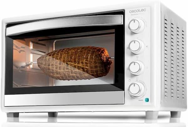 horno de sobremesa cecotec bake & toast 790 gyro