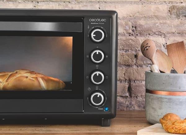 cecotec horno conveccion sobremesa bake&toast 750 gyro